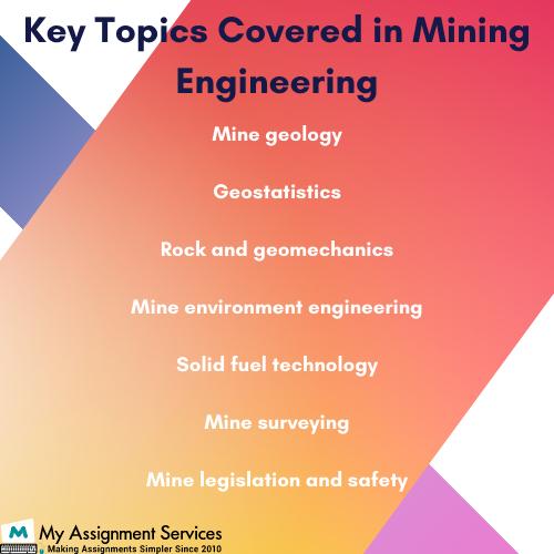 Key Topics Mining Engineering