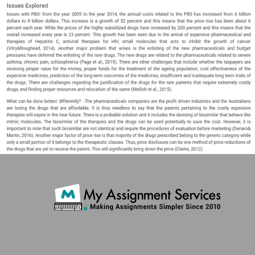Pharmaceutical Development assignment Sample