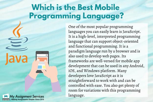 Mobile programming language