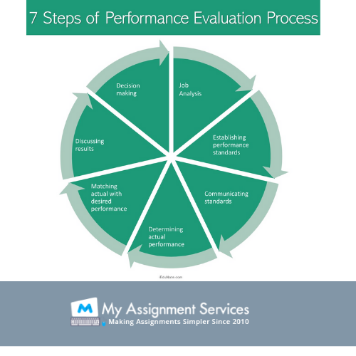 7 steps of performance evaluation process