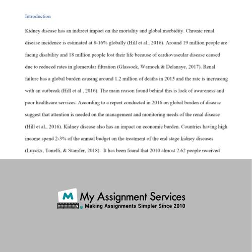 palliative care assignment sample
