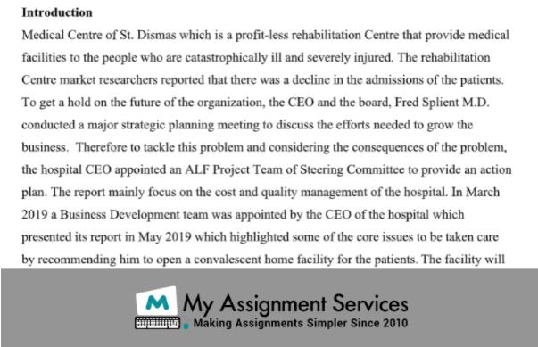 Medical Centre of st Dismas