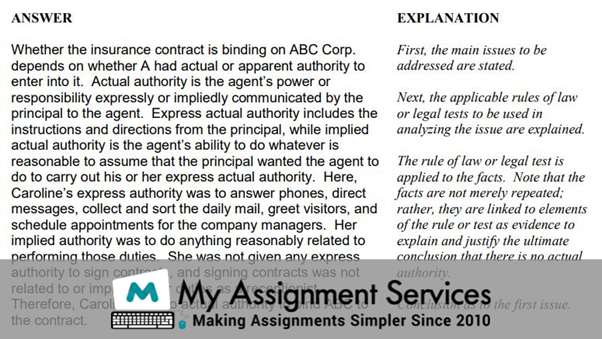ILAC essay sample