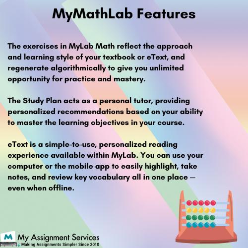 MyMathlab features