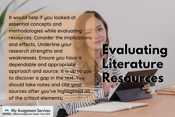 Evaluation literature resources