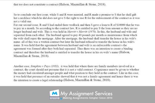 company law case study sample