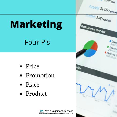 marketing four P's