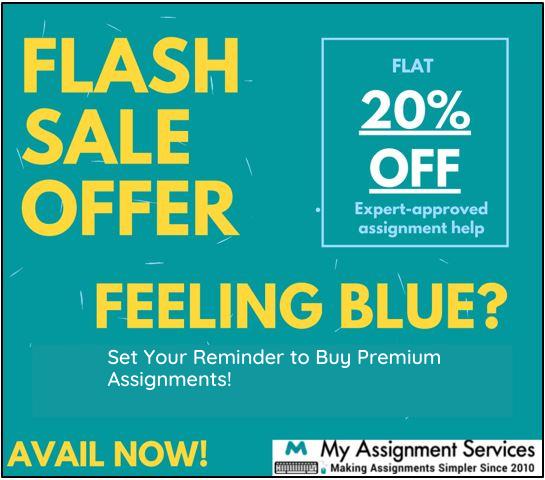 Flash sale offer