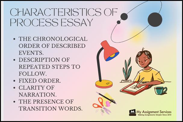 characteristics of process essay