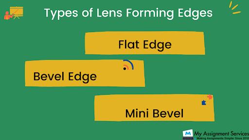 Types of lens edges