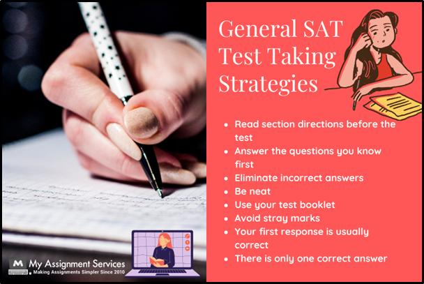 General SAT Test Taliking Strategies