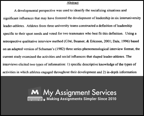Dissertation Sports sample