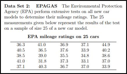 Data Set EPAGAS