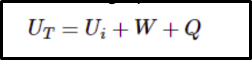 formula for calculating the conservation of energy