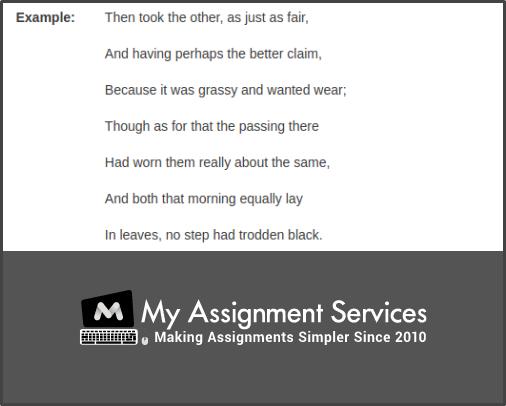 Cite Poem Example