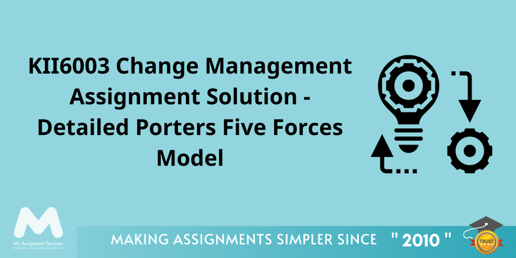 Change Management Assignment Solution by Experts