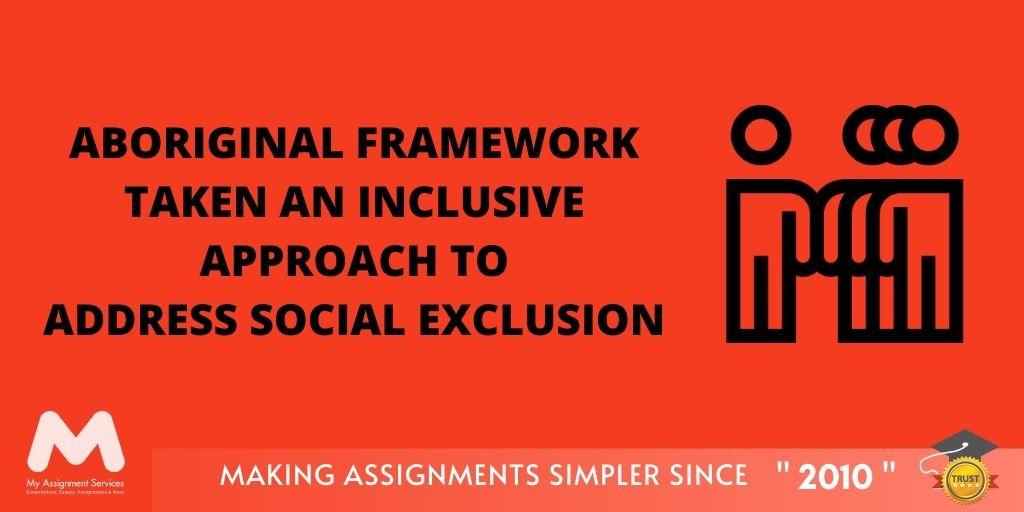 Aboriginal Inclusion Framework