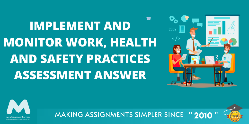 Implement And Monitor Work Health And Safety