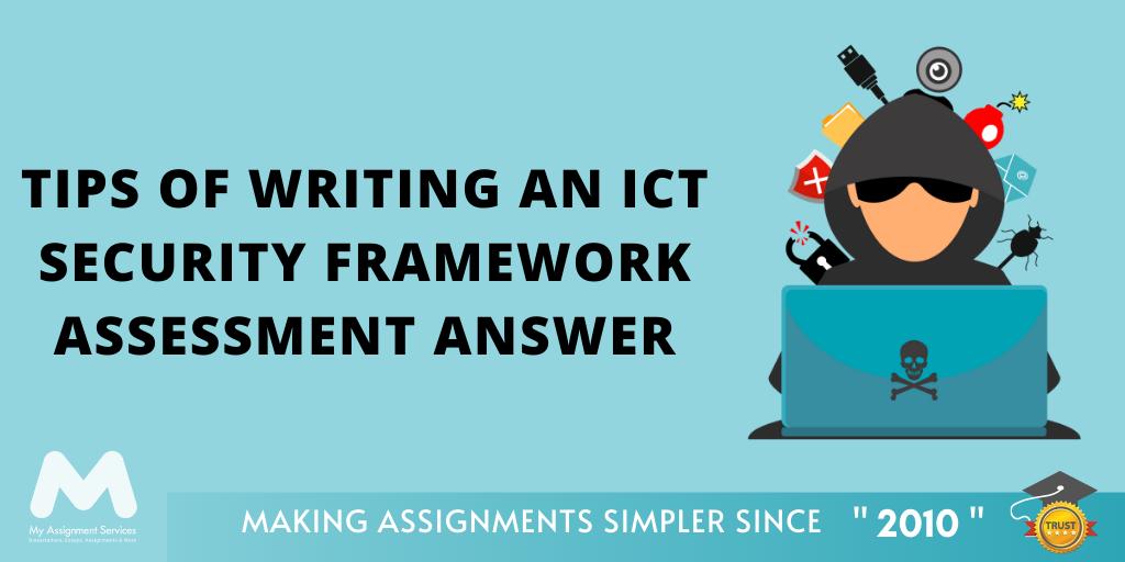ICTNWK519 Design An ICT Security Framework Assessment Answer