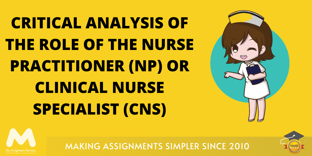 Critical Analysis of Role of Nurse Practitioner