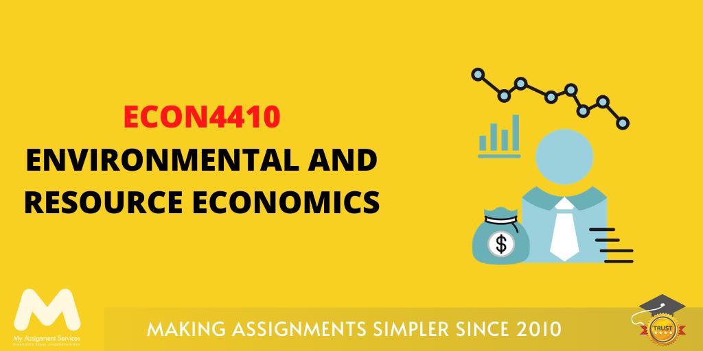 ECON4410 Environmental and Resource Economics
