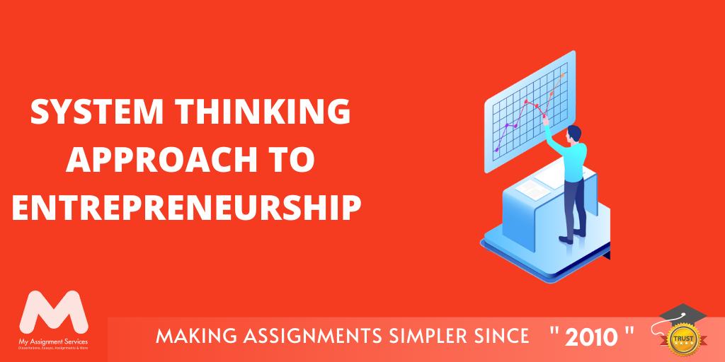 System Thinking Approach to Entrepreneurship