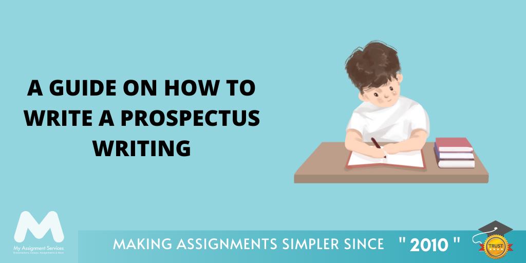 A Guide on How to Write a Prospectus Writing
