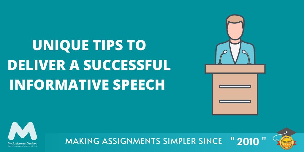 Unique Tips to Deliver a Successful Informative Speech