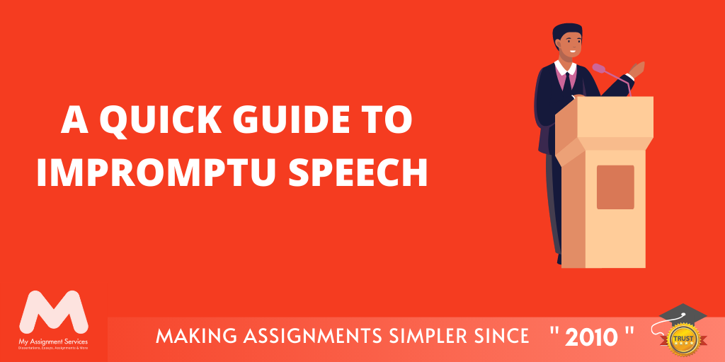 A Quick Guide to Impromptu Speech